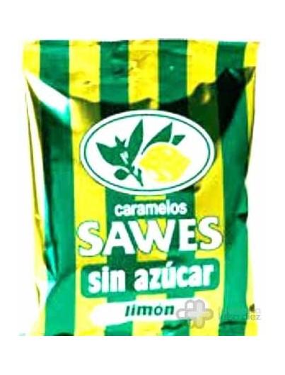 CARAMELOS SAWES SIN AZUCAR BOLSA LIMON