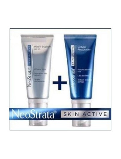 NEOSTRATA SKIN ACTIVE PACK CREMA MATRIX SUPPORT SPF 30 50 ML + CREMA CELLULAR RESTORATION 50 ML
