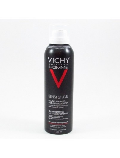 VICHY HOMME GEL AFEITAR ANTI IRRITACIONES 150 ML