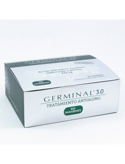 GERMINAL 3.0 ANTIAGING F15 30 AMPOLLAS