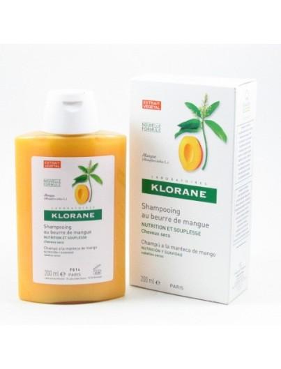 KLORANE CHAMPU NUTRITIVO MANTECA MANGO 200 ML