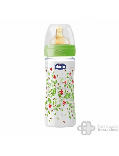 CHICCO BIBERON TETINA LATEX FLUJO MEDIO + 2 MESES 250 ML