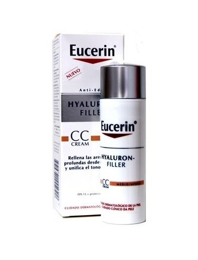 EUCERIN HYALURON FILLER CC CREAM TONO MEDIO 50 ML