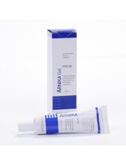MARTIDERM ARNIKA GEL REPARADOR FACIAL Y CORPORAL SPF50, 30 ML