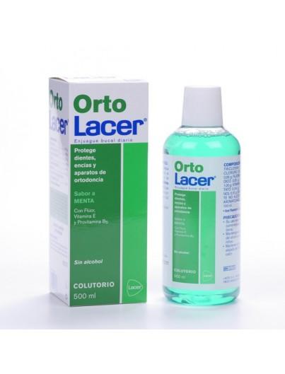 LACER COLUTORIO ORTOLACER SABOR MENTA 500 ML