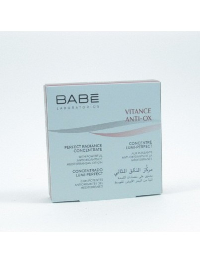 BABE VITANCE ANTIOX CONCENTRADO LUMI PERFECT 2 ML X 5 UNIDADES