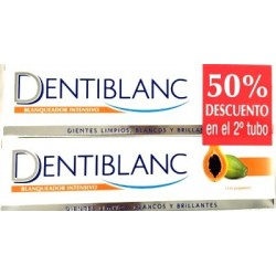 DENTIBLANC DUPLO PAPAYA BLANQUEADOR INTENSIVO 100 ML X 2