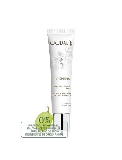 CAUDALIE VINOPERFECT FLUIDO PIEL PERFECTA FPS20 40 ML