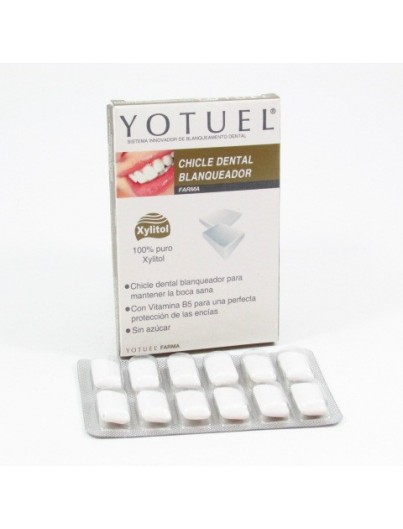 YOTUEL PHARMA CHICLE 12 UNIDADES