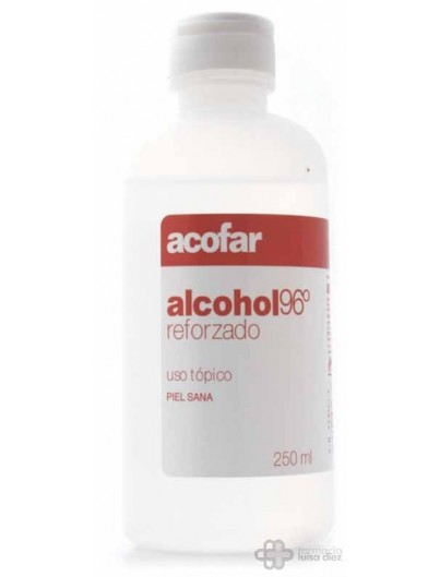 ALCOHOL REFORZADO 96º ACOFAR 250 ML