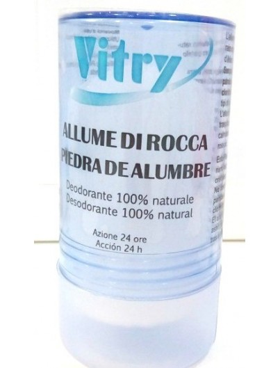 VITRY DESODORANTE NATURAL PIEDRA ALUMBRE STICK 120 GRAMOS
