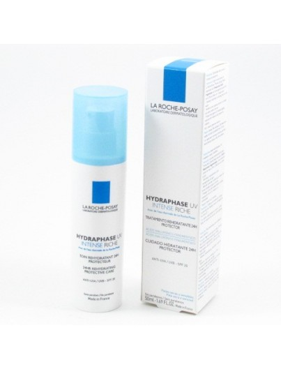 LA ROCHE POSAY HYDRAPHASE UV INTENSE RICHE 50 ML + REGALO CICAPLAST LABIOS