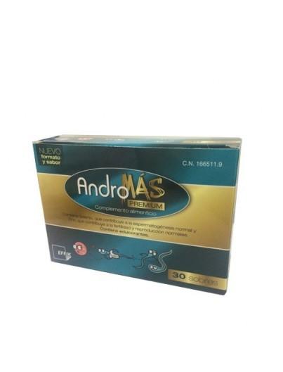 ANDROMAS PREMIUM 30 SOBRES + 30 CAP