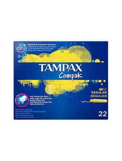 TAMP-TAMPAX COMPAK REGULAR 16