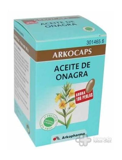 ARKO CAPSULAS ACEITE DE ONAGRA 100 CAP