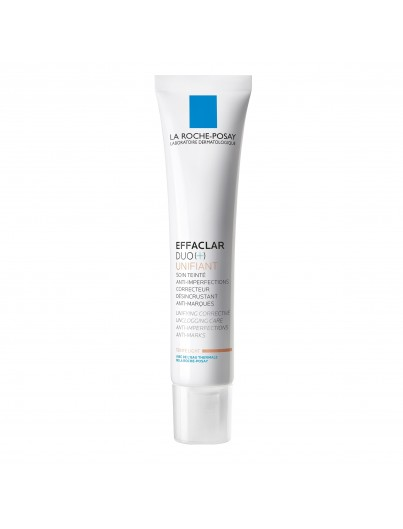 LA ROCHE POSAY EFFACLAR DUO (+) UNIFIANT TONO LIGHT 40 ML + REGALO KIT LIMPIEZA O DESMAQUILLADO EFFACLAR