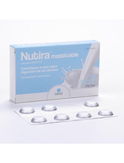 NUTIRA LACTASA 4500 FCC 28 COMPRIMIDOS MASTICABLE