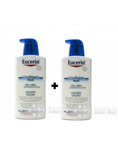 EUCERIN PACK UREA - REPAIR PLUS PACK 400 ML + 400 ML