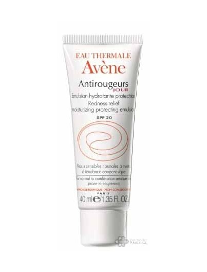 AVENE ANTIROJECES EMULSION HIDRATANTE SPF20 40 ML