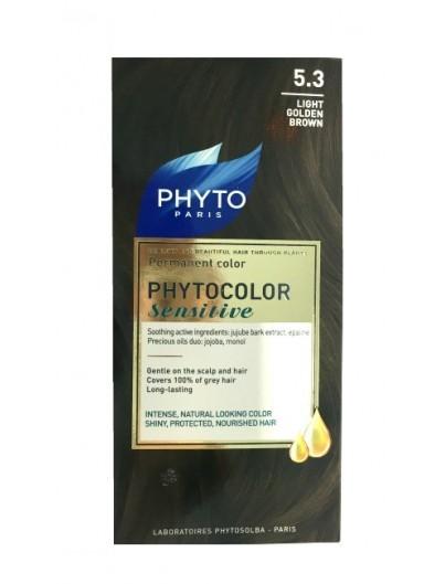 PHYTO PHYTOCOLOR SENSITIVE 5.3 CASTAÑO CLARO DORADO