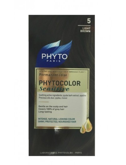 PHYTO PHYTOCOLOR SENSITIVE 5 CASTAÑO CLARO