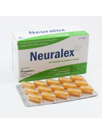 NEURALEX CAPS DE GELATINA BLANDA 60 CAPSULAS