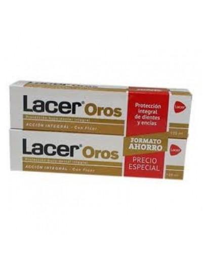 LACER OROS PASTA DUPLO 125 ML X 2