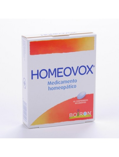 BOIRON HOMEOVOX 60 COMPRIMIDOS