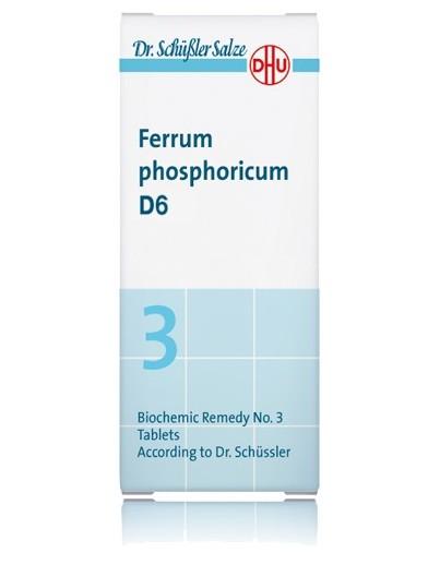 DHU FERRUM PHOSPHORICUM D6 80 COMPRIMIDOS