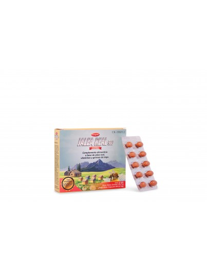 CEREGUMIL JALEA REAL 500 mg 30 CAPSULAS