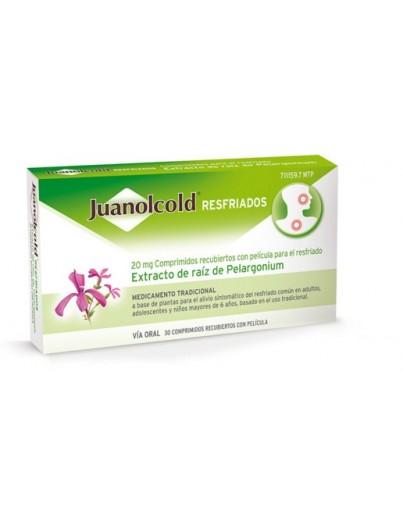 JUANOLACOLD RESFRIADOS 30 COMPRIMIDOS