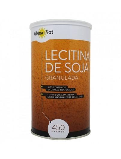 GLAMA - SOT LECITINA DE SOJA GRANULADA 450 GRAMOS