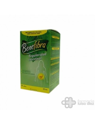 BENEFIBRA FIBRA SOLUBLE LIQUIDO 12 SOBRES 60 ML