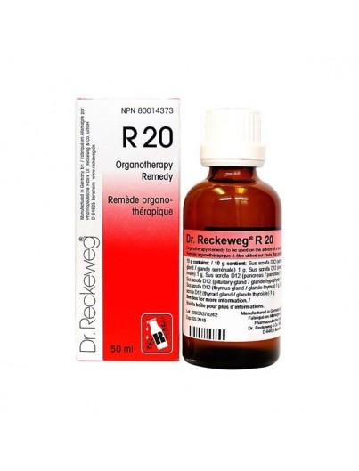 DR. RECKEWEG R 20 EUGLANDIN F GOTAS 50 ML