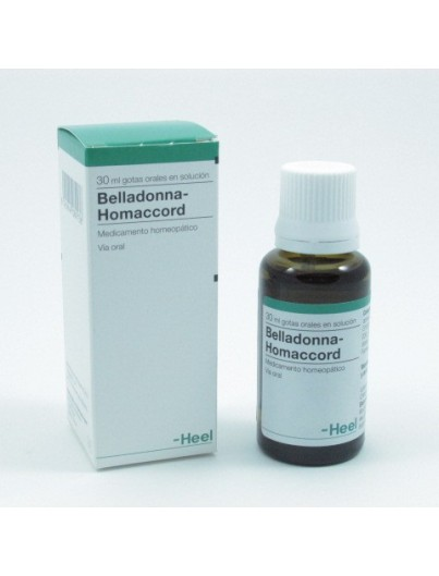 HEEL BELLADONNA HOMACCORD GOTAS 30 ML