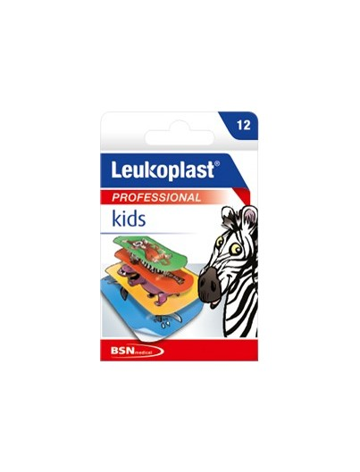 LEUKOPLAST KIDS ZOO SURTIDO 12 U
