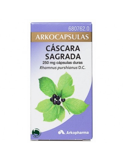 ARKOCAPSULAS CASCARA SAGRADA 250MG 50 CAPSULAS