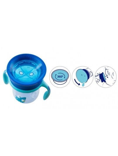 CHICCO VASO PERFECT 360 NIÑO +12M