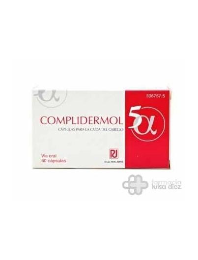 COMPLIDERMOL 5 ALFA 60 CAPSULAS