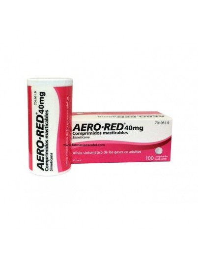 AERO RED 40 MG 100 COMPR MASTICABLES