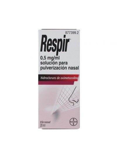 RESPIR 0.05% SPRAY NASAL 20 ML
