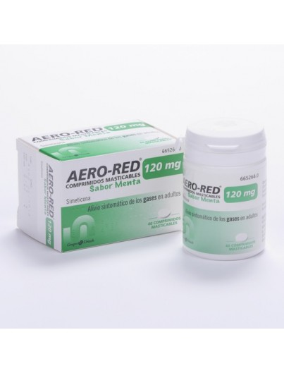 AERO RED 120 MG 40 COMP MASTICABLE MENTA
