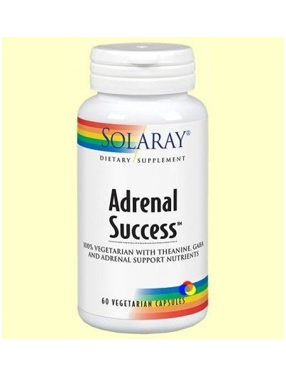 SOLARAY ADRENAL SUCCESS 60 CAPSULAS