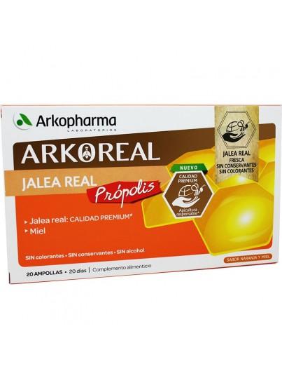 ARKOPHARMA ARKOREAL JALEA REAL PROPOLIS 20 AMPOLLAS