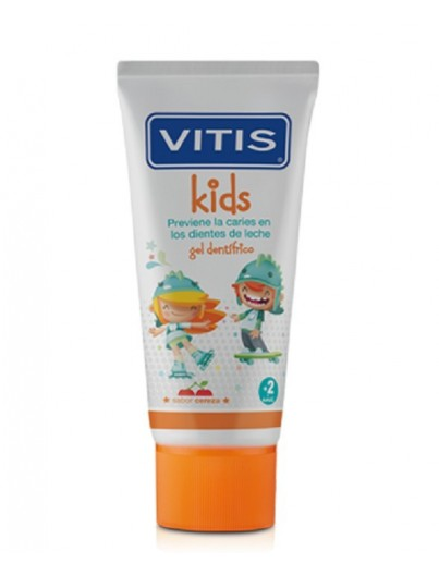 VITIS GEL DENTIFRICO KIDS +2AÑOS 50 ML