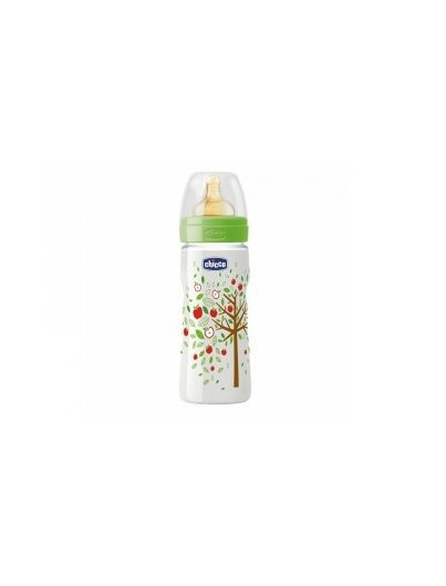 CHICCO BIBERON TETINA LATEX FLUJO RAPIDO 330 ML
