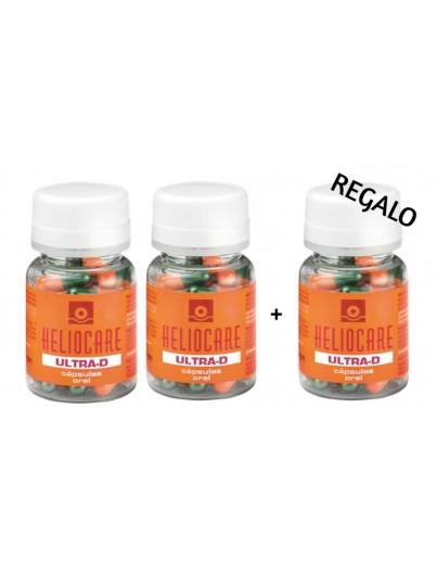 HELIOCARE ULTRA-D CAPSULAS 2 UNIDADES + 1 REGALO (90 CAPSULAS)