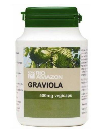 UNIVERSO NATURAL GRAVIOLA 500 MG 120 CAPSULAS