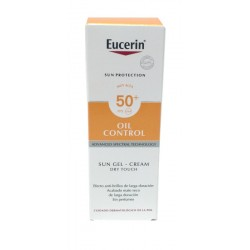 EUCERIN SUN PROTECTION OIL CONTROL SUN GEL-CREAM TOQUE SECO 50 ML