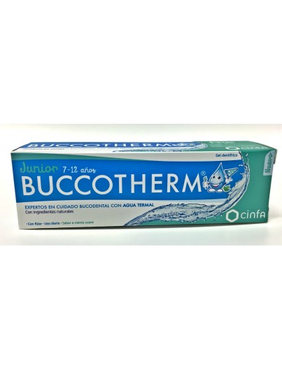 BUCCOTHERM GEL DENTIFRICO JUNIOR 7-12A 50ML